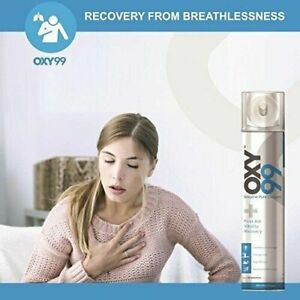 Oxy99 Portable Oxygen Cylinder Can 6 liters 99% Pure Oxygen - Best Offer