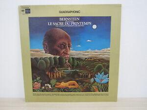 LP- Bernstein, The London Symphony Orchestra - Stravinsky-Le Sacre Quadraphonic