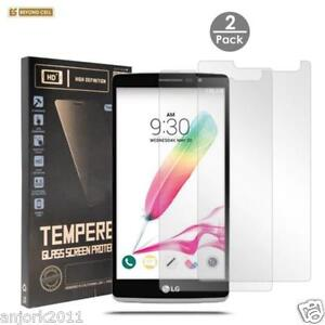 2 PACK TEMPERED GLASS SCREEN PROTECTOR FOR LG STYLO 2 / STYLO 2 PLUS LS775 K520
