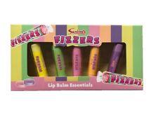 Swizzels Fizzers Pack of 5 Sweet Flavour Lip Balms Lips Smacker Balm Gift Set