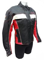 Ladies Black / Red Prospeed 7 Bridges Waterproof Motorcycle Jacket Was £99.99
