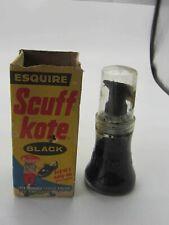 Vintage Scuff Kote (Black) Liquid Shoe Polish with Original Box