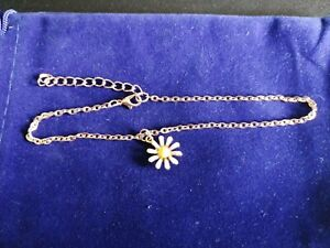 Rose Gold Plated Daisy Anklet