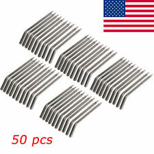 50 PCS Nozzles Tubes Tips for 3 Way Handpiece Dental Air Water Syringe Spray S2