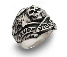 Neu Freimaurer Ring Sterling Silber 925 Herren Schmuck Masonic Handgefertigt
