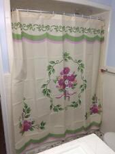 Victorian Flower Bouquet Bathroom Shower Curtain