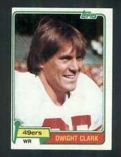 1981 Topps #422 Dwight Clark NM/NM+ RC Rookie 49ers 118135