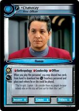 Star Trek CCG 2E These Are The Voyages Chakotay, First Officer 12R60