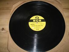 REBEL WITHOUT A CAUSE/EAST OF EDEN ART MOONEY,1956 78 RPM,SHELLAC RECORD,MGM923