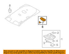 VOLVO OEM 11-13 S60-Map Light-Reading Lamp 39852748