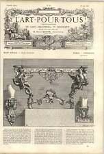1861 18th-century French School Table Consoles Picau