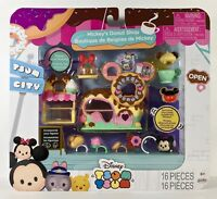 2018 Disney Tsum Tsum New MICKEY'S DONUT SHOP with Exclusive Chocolate Mickey