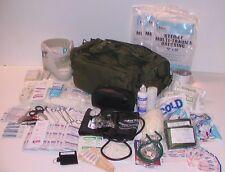 ELITE FIRST AID Corpsman M39 Medic Bag Trauma Kit STOCKED Military Survival ODG+