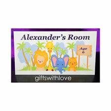 Children's Animals for Boys Girls Plaques & Signs