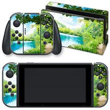 """Nintendo Switch Skin selbstklebend """" IDYLLE AM SEE """" Sticker Aufkleber"""