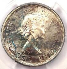 1955 Canada Elizabeth Quarter 25 Cent Coin (25C). PCGS MS65 - $250 Value in MS65