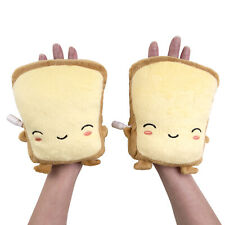 Smoko Cute Kawaii Chibi USB Toast Pillow Glove Handwarmer Heating Pad- Butta