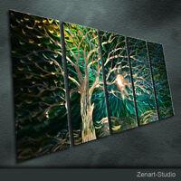 Modern Abstract Metal Art Original Handmade Large Indoor-Outdoor Decor-Zenart