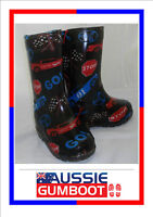 Kids Gumboots Cool Cars Size 4 5 6 7 8 9 10 11 12 13 Wellies Childrens Child NEW