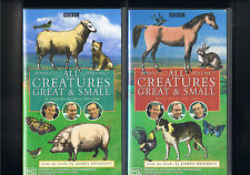 All Creatures Great and Small Series 1 vol 1,series 1 vol 2..vhs/vid new sealed