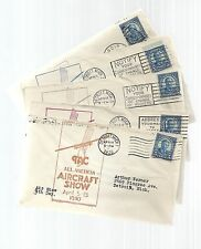 US Event Cover Lot of 5 - TAC All American Aircraft Show, April 1930 - Matched*