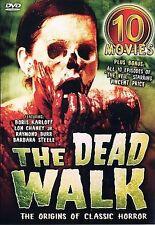 The Dead Walk - Ten Movie Set (DVD, 2004, 5-Disc Set) Brand New