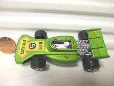LESNEY MATCHBOX MB24B GREEN 1973 Team Matchbox #5 Label Race Car Mint Pvc Boxd*