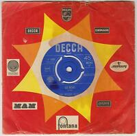 "THE MOODY BLUES - Go Now! - Deleted 1964 Dutch Decca 2-track 7"" vinyl single"
