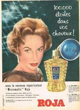 PUBLICITE ADVERTISING   1958   ROJA FLORE  le nouveau vaporisateur MICROMATIC