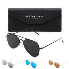 Gafas de sol HERLING H310 aviador hombre/mujer espejo vintage retro