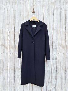 Jigsaw Black Wool Cardigan Coat - Size: 12 / Was Selling At John Lewis