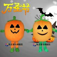 Honest 2019 New Inflatable Pumpkin Costumes Halloween Carnival Party Game Suits Inflatable Costume Adult Fancy Dress Suit One Size Home