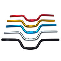 25.4*520mm Cycling Bicycle Handlebar MTB Mountain Bike Aluminum-Alloy Riser