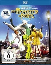 Ein Monster in Paris [3D Blu-ray] von Bergeron, Bibo | DVD | Zustand gut