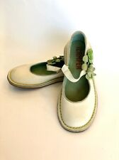 CAMPER Shoes Mary Jane Flats Floral EU 36 / US 6 Cream Green