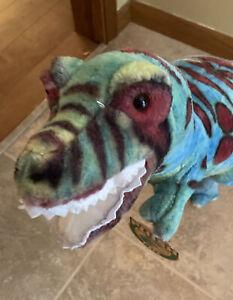 "Jumbo Melissa & Doug Plush Dinosaur Giant T-Rex Large 39"" -New"