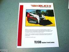 Takeuchi TL130 Rubber Track Loader Brochure