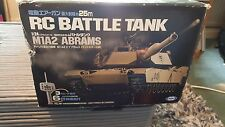 Remote Control M1A2 Abrams Battle Tank RC RTR 1/24  Spares / Repairs  (P 01)