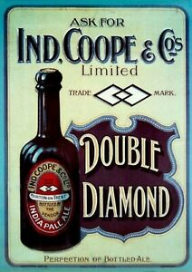 Ind Coope Double Diamond Beer Brewery Vintage Wall Picture Poster Bar  (TP308)