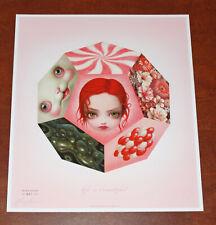 Mark Ryden Life Is Beautiful Art Print Lithograph Poster S/# 421/500 w/ COA