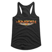 Journey Scarab Beetle Logo Women's Tank Top Rock Band Concert Merch Racerback