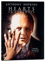 Hearts in Atlantis (2005, REGION 1 DVD New) CLR/CC/5.1/AWS