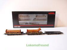 Märklin 82349 Schwerlastwagen-set mit Ladegut Flanschrohre Spur Z