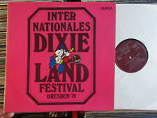 INTERNATIONALES DIXIELAND FESTIVAL DRESDEN '79 DDR AMIGA LP: UMBRELLA JAZZMEN +
