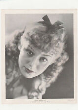 "Anne Shirley ""M' Liss""  Publicity Photo 1930's"