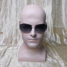 Realistic Lifelike Fiberglass Male Mannequin Head for Hat,Wig,Glasses Display
