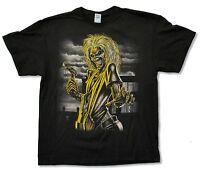 Iron Maiden Killers Jumbo Logo On Back Black T Shirt New Official Album