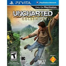 Uncharted: Golden Abyss [Sony PlayStation Vita PSV, Action Adventure] NEW