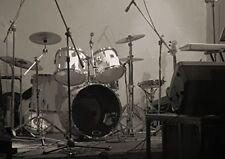 Drum Set Garage Band Peel & Stick Vinyl Background Setting Musician Instruments