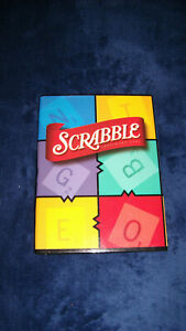 Scrabble Small Travel Folding Game Board , Replacement Part or Arts and Crafts